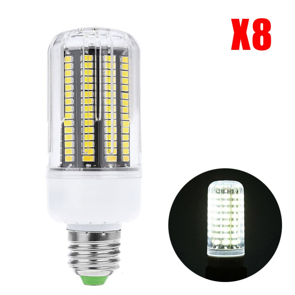 +Cheap 8PCS CE High Power 220v LED Lamp corn bulb Spotlight SMD 5736 lampada led E27 E14 lamparas 9W 12W 15W 20W Warm Cold white(China (Mainland))