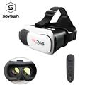 VR Box 2 0 VR PLUS Optional 3D Glasses Virtual Reality Headset 360 Google Cardboard Helmet