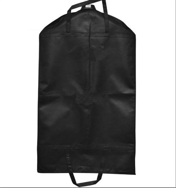1pc/lot Black Coat Clothes Garment Suit Cover Bags Dustproof Hanger Storage Protector Travel Storage Organizer Case DP871745(China (Mainland))