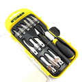 14pcs Gravers Wood Carving Knife SK5 Steel Sculptural Chisel Craft Tools Hobby Knife With Case