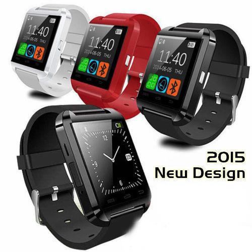 2015 HOT Bluetooth smart watch U8 Wrist Watch U smartWatch Samsung S4/Note2/3 HTC LG Xiaomi Android Apple Phone Smartphones