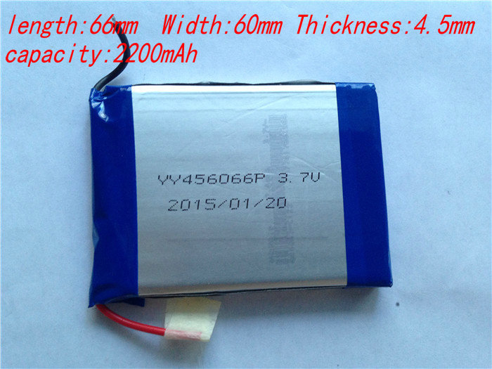 456066 3.7V 3200 mAh Polymer rechargeable Lithium Li ion Battery GPS ipod PSP Tablet PC Mobiles Backup Power - easy life store