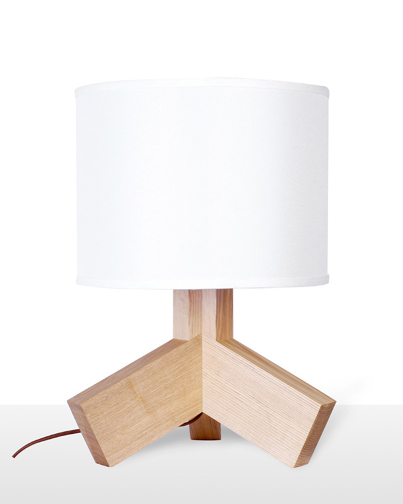EMS Free Table Lamps E27 Modern White Desk Lamp With ...