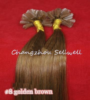 Changzhou Sellwell U 100% Remy : #8 0,5 g/S 2sets/200s 18 щипцы для наращивания волос changzhou sellwell 5pcs loof