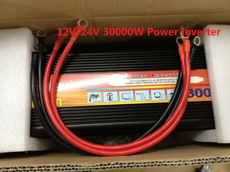 Home use 3000W inverter Peak 6000W Modified Wave Power Inverter 12V to 220V(China (Mainland))