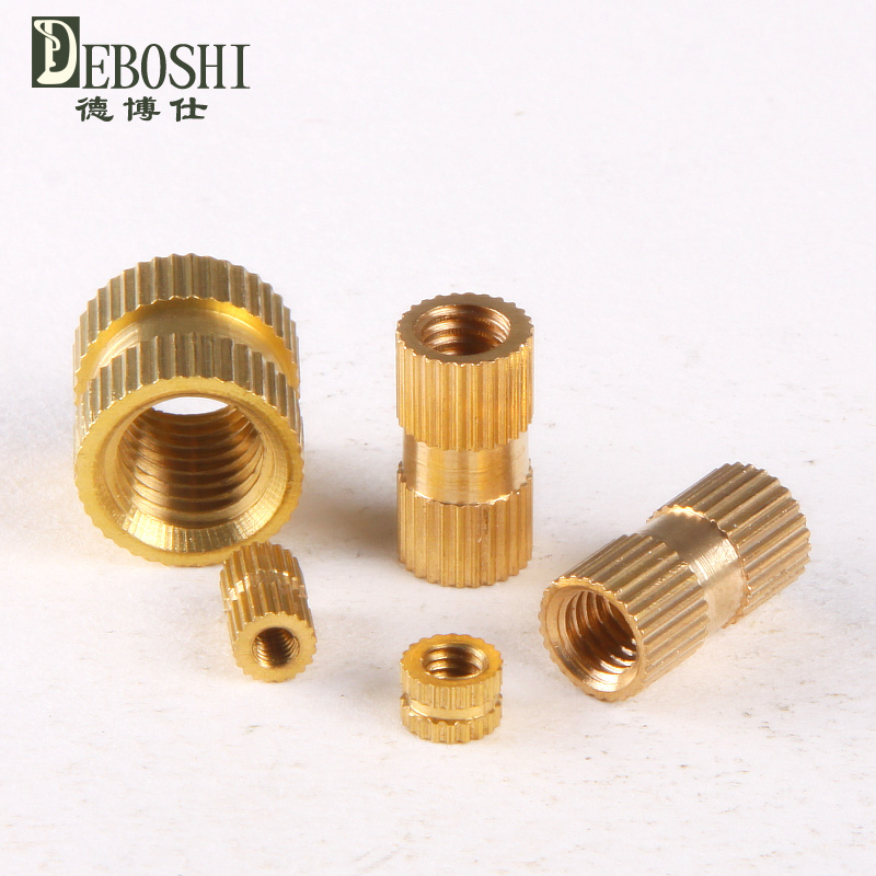 Copper inserts / Inserts / embedded copper / copper flower mother / cylindrical knurled nut M6 * 10-8mm<br><br>Aliexpress