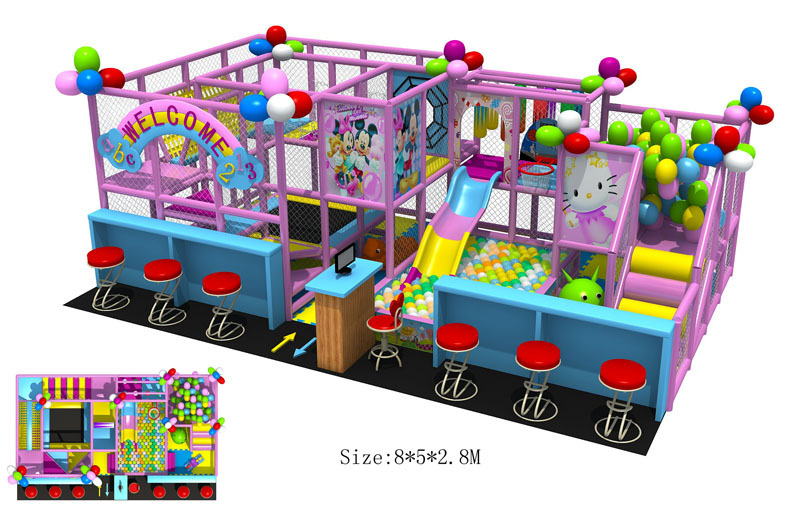 CE Approved Children Playground Nontoxic Plaza De Juegos Top Quality Kids Indoor Playground Equipment 150508(China (Mainland))