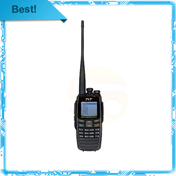 Free shipping TYT DM-UVF10 DPMR Digital voice Walkie Talkie dual band 5W 256CH VOX Scan Digital Two Way Radio(China (Mainland))