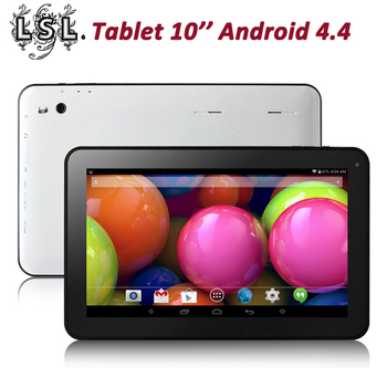 """HOT 10.1"""" A33 A31S A83T Quad Core/Octa Core  tablet pcs android 4.4, 1G RAM 8G/16G ROM with Bluetooth Dual Cameras Tablet PC"""