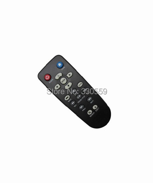 Remote Control Fit For WD TV Western Digital WD5000F032 WDBAAM0000NBK Live WDTV Media Player(China (Mainland))