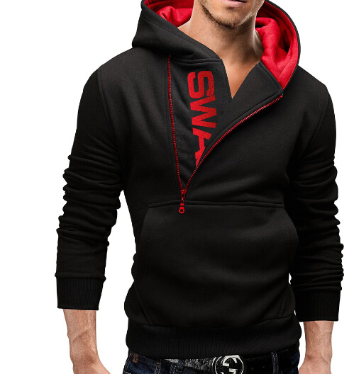 2015 Winter Fleece Cardigan Hoodie Jacket,Fashion Biand Hoodies Men,CasuMen,Sportswear Zipper Hoodieal Slim Sweatshirt - qingya xu's store