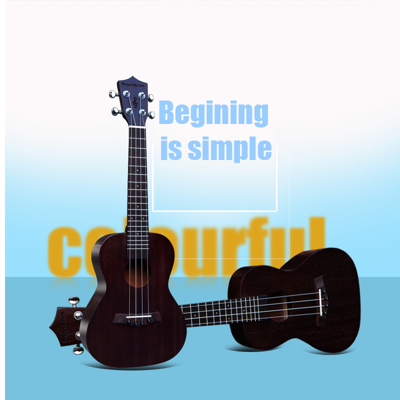 Free shipping 23 acoustic guitar ukulele musical instruments colourful finish mahogany hawaii ukelele(uke) guitarra wholesale<br><br>Aliexpress