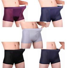 Sexy Men's Super-elastic Hollow Breathable And Comfortable Underpants, Antibacterial Bamboo Fiber Men Underwear(China (Mainland))