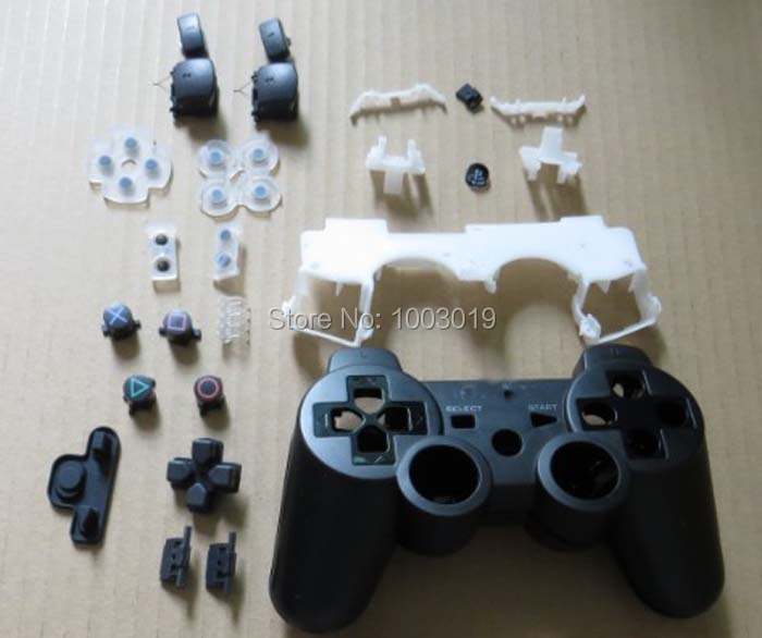 Replacement Housing Shell Case Cover For PS3 Controller Wireless Original With Full Set Buttons For Sixaxis