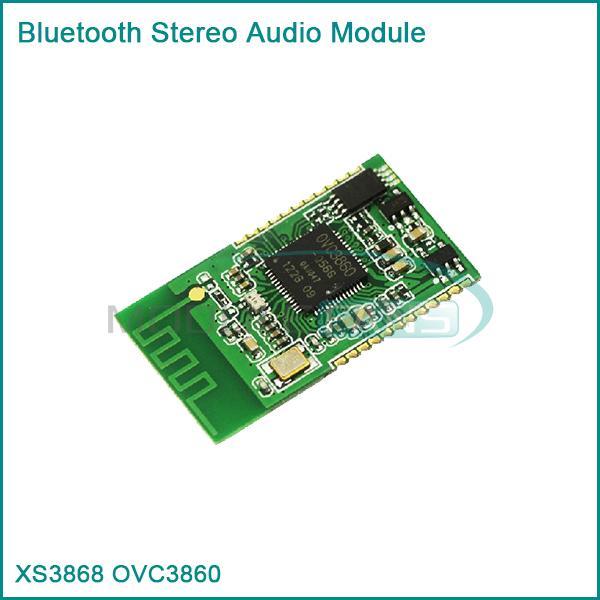Гаджет  New XS3868 Bluetooth Stereo Audio Module OVC3860 Supports A2DP AVRCP Good None Электронные компоненты и материалы