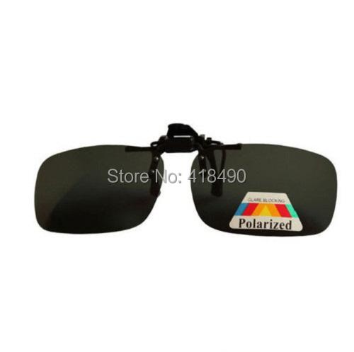 free shipping 400pcs Clip daily night men and women myopia polarized balck sunglasses clip eyewear fashion goggles