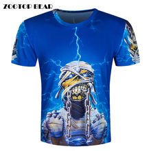 Buy Heavy metal band 3D T-Shirt Men Funny T Shirts Psychedelic Print Tops Hip Hop Camisa Luxury Short Sleeve Fashion Tee ZOOTOP BEAR for $7.62 in AliExpress store