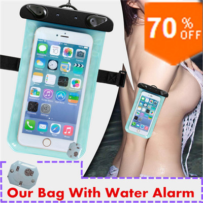 Touch screen mobile phone waterproof bag PVC Waterproof Phone Case Underwater Phone Bag Pouch Dry For Iphone 4/5S Samsung #4321(China (Mainland))