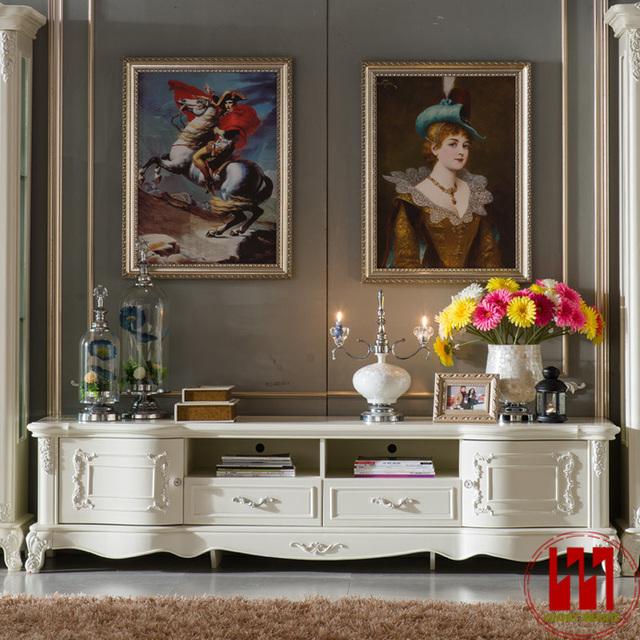 Meuble tv living bois - Acheter meuble tv design ...