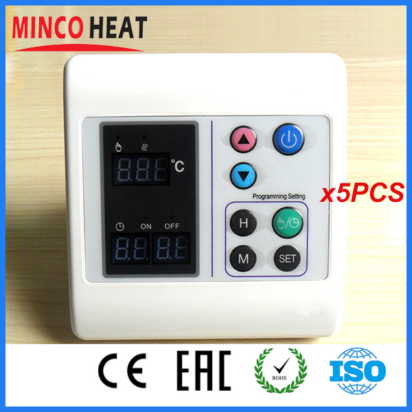 Digital Room Temperature Heat Controller Thermostat (5PCS)<br><br>Aliexpress