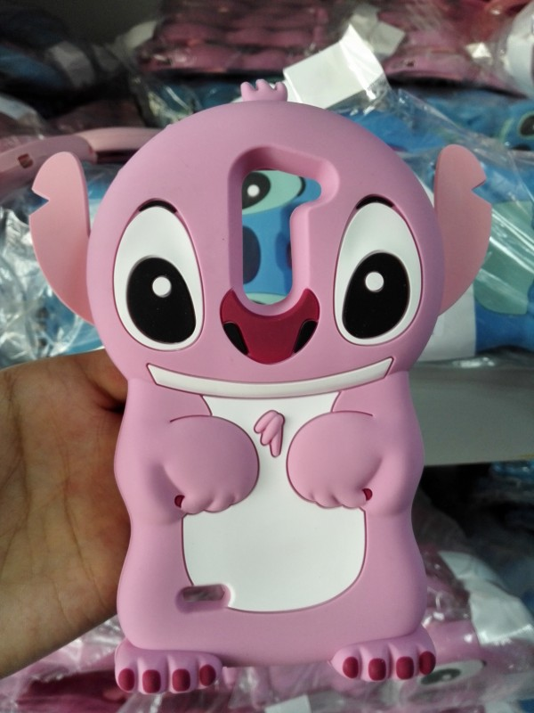 Cute Cartoon Pink Stitch Soft Rubber 3D Silicone Back Cover Case LG G3 Stylus D690 - Made In China Centre store
