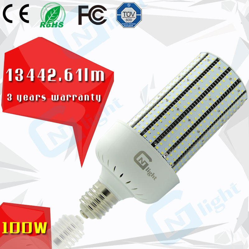 Mercury light retrofit replacement LED lamps E39 LED Corn cob 100W(China (Mainland))