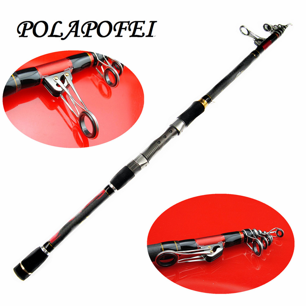 2.1~3.6m Carbon Fishing Rod Spinning Telescope Pole fit for shimano reel peche carp fish tackle feeder olta fly rod tenkara C241(China (Mainland))