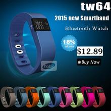 New tw64 Smartband Smart bracelet  Smart Wristband Fitness tracker Bluetooth 4.0 Smart Watch for ios android better than mi band