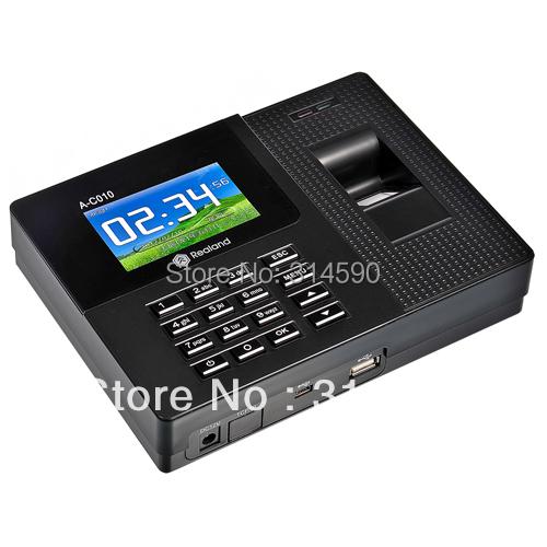 Fingerprint Time attendance TFT TCP/IP Time Recorder Clock System NEW UPGRADE Providing SDK(China (Mainland))