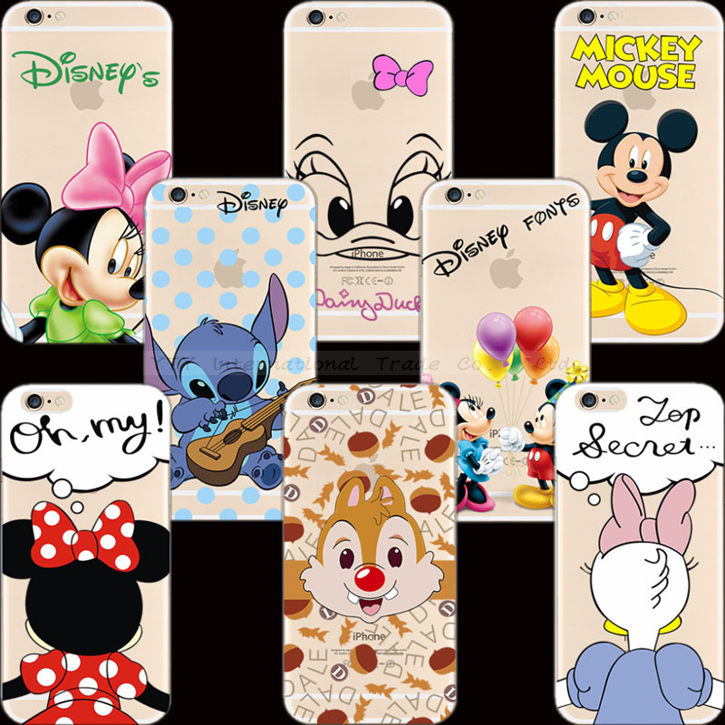 Drop Shipping Pattern Animation Figure Silicon Phone Shell For Apple iPhone 6 Plus Case For iPhone6+ Cases Cover OS-SS PQN LJD N(China (Mainland))