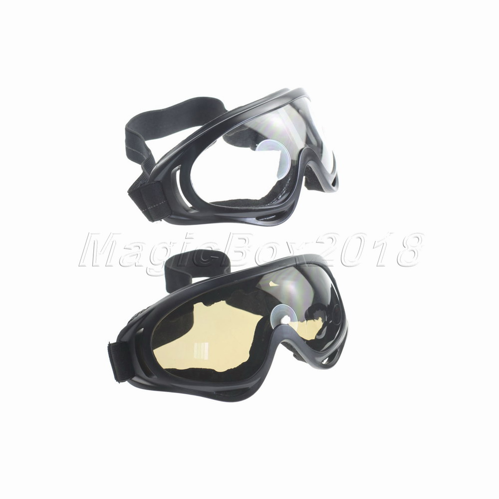 Promotion Safety Goggles Glasses with Elastic Strap Treanslucent Lens ABS Frame Sponge UV400 Protection Goggles Glasses(China (Mainland))