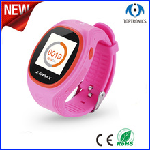 China Hot selling Small wrist watch gps tracking device, children's smart watch, support gps wifi LBS positioning watch phone(China (Mainland))