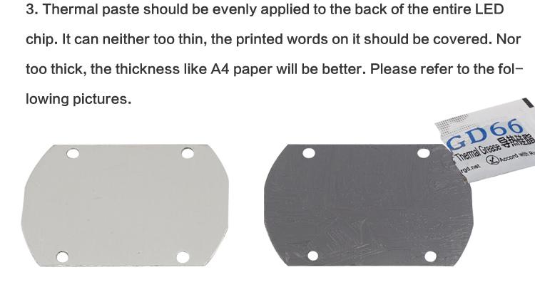 10 шт GD66 теплопроводная Смазка Вставить Кремниевая паста для светодиодный чип 1_05