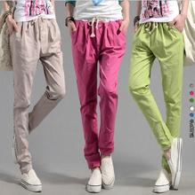 Regular Broadcloth Rushed Summer Style Hot Sale Women Pencil Pants High Waisted Slim Female Fit Trousers Sports Pantalones