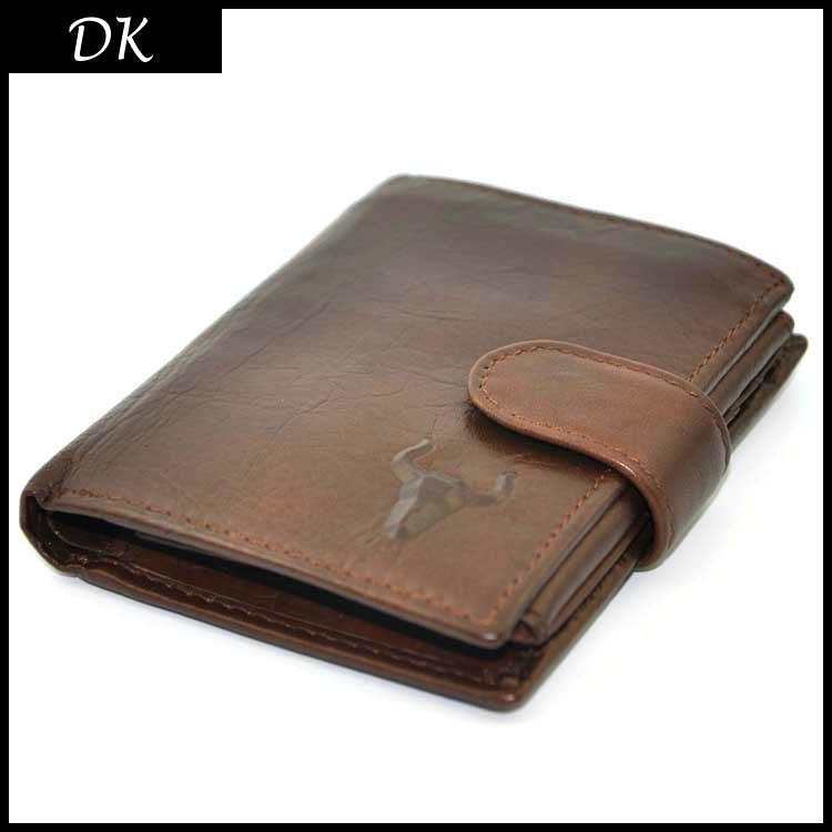 Men Wallets Brand Vintage Designer Genuine Oil Wax Leather Cowhide Short Bifold Wallet Purse Card Holder With Coin Pocket(China (Mainland))