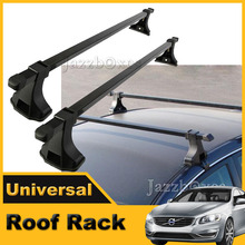 48'' Car Top Roof Rack Cross Bar Crossbars Luggage Cargo Carrier Window Frame Adjustable(China (Mainland))