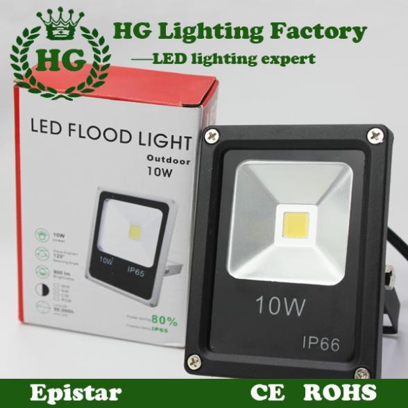Newest 85-265V LED luminaire light 10W 20w 30w 50w IP65 LED Flood Light Floodlight LED street Lamp Free Shipping(China (Mainland))