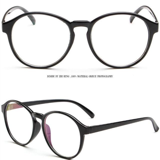 Marcos para gafas de la miopía de los ojos gafas Vintage óptica Clear Eye montura de