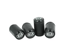 New Five colors Korean matte aluminum tire valve cap dust cap for KIAcar(China (Mainland))