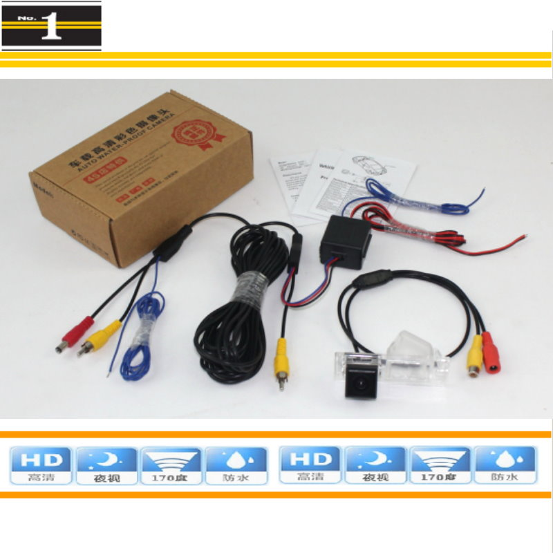 HD CCD Night Vision / Car Rear Camera For Dodge Journey / JC / JCUV 2008~2015 / Reversing Park Camera + Power Relay Model(China (Mainland))