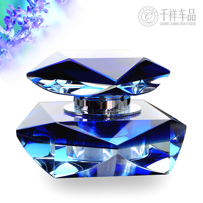 Tamehome Best Gift Auto Supplies Perfume Seat Quality Car Accessories Fashion Crystal Bottle Male Women Freshener Car Fragrance(China (Mainland))