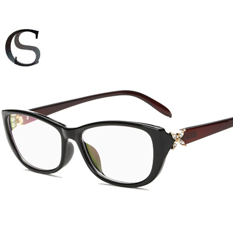 Designer Eyeglass Frames With Rhinestones : Aliexpress.com : Buy BRAND DESIGNER INSPIRED SPECTACLE ...