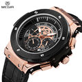 MEGIR New Style Men Casual Watch Chronograph Large Dial 24 Hours Function Waterproof Military Sport Watch