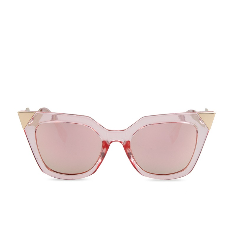 2016 Newest Fashion Trend Unique Shape Leg Cateye Women Men Sunglasses Brand Designer Vintage Luxury Sunglasses UV400 Protection(China (Mainland))