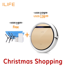 ILIFE V5s Robot Vacuum Cleaner Mop home floor Washing, 2016 new V5 Pro house sweeping cleaning, free shipping + gift pack(China (Mainland))