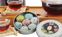 puer Chinese Organic Natural Health Food Compressed puer tea Mini Box Seven Mix Taste Slimming Tea