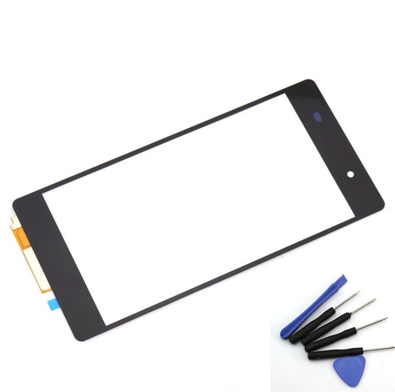 New Black Replacement Touch Screen Digitizer for Sony Xperia Z2 L50W D6503 Glass touch Panel+toolsZ2, free shipping+tracking No.