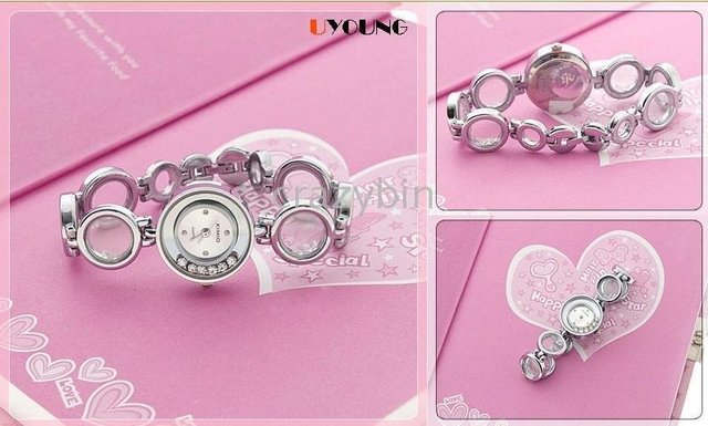 wholesale fashion brand watch/bracelet watch K046L - - 10 pcsEYKFashionBeautiful mood to go bead