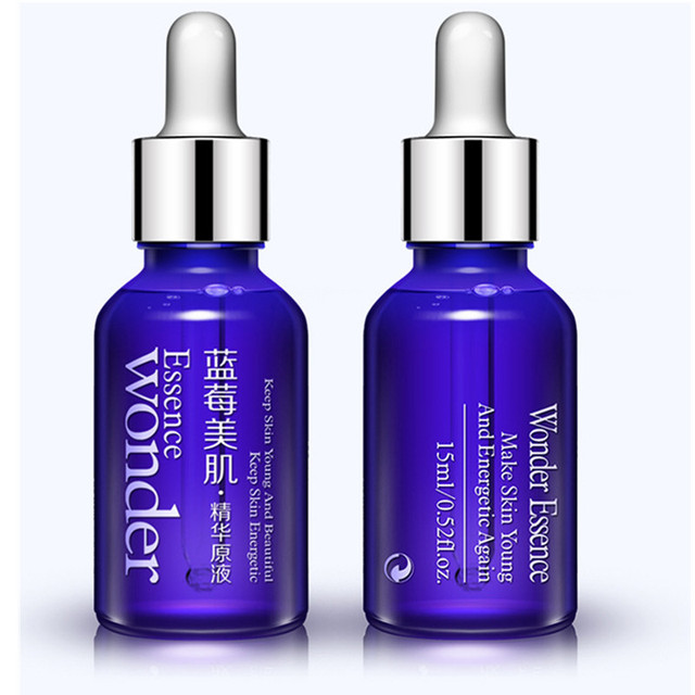 Blueberry Whitening Moisturizing Essential Oil Skin Care Plant Extract Anti Wrinkle Facial Serum Sodium Hyaluronate Serum GI2409