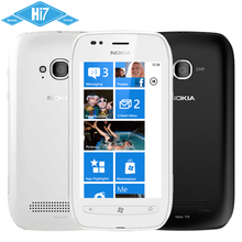 710 Original Nokia Lumia 710 3G Microsoft Windows Mobile Phone 3.7Inch 5MP Camera Bluetooth WiFi Free Shipping